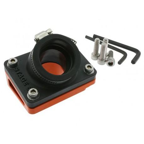 Впускной коллектор Stage6 R/T orange. Piaggio, Gilera