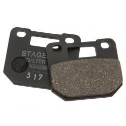 Тормозные колодки Stage6 для R/T 4-поршневого суппорта органика