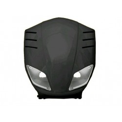 Передний пластик Yamaha Slider черный