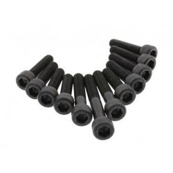 Болты крышки вариатора Yamaha Minarelli, черные