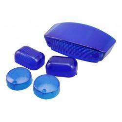 Стекла Yamaha Slider, синие