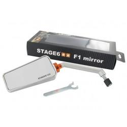 Зеркало Stage6 F1, правое. Aluminium