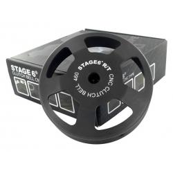 Колокол сцепления Stage6 R/T CNC, 460гр. Д.107мм, Piaggio/Gilera/Peugeot