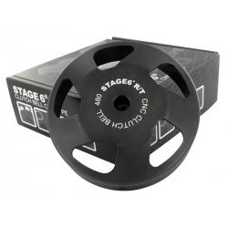 Колокол сцепления Stage6 R/T CNC, 480гр. Д.107мм, Piaggio/Gilera/Peugeot