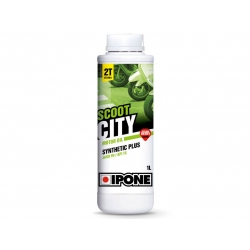 Масло IPONE Scoot City 2Т с запахом клубники 1л.