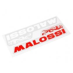 Наклейки Malossi Красная и белая. 9 см.