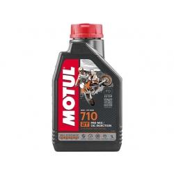 Motul 710 2T 100% синтетика, ESTER. 1 литр