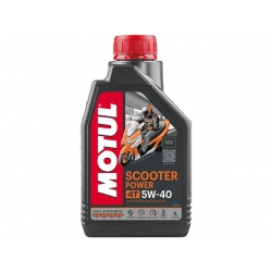 Масло Motul Scooter Power 4t 5W-40