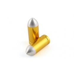 Колпачки вентилей колеса STR8, Bullet, gold