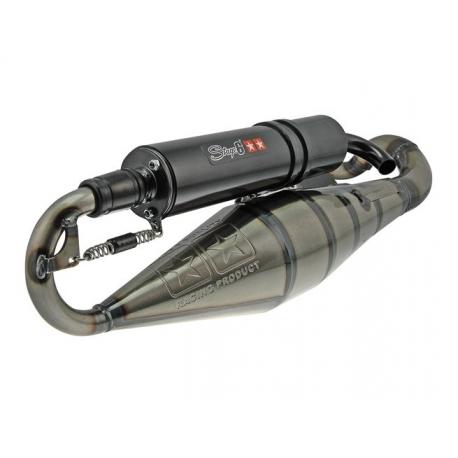 Выхлопная труба Stage6 PRO REPLICA Yamaha Aerox / Jog / Neos / Minarelli горизонт