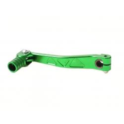 Лапка переключения передач для питбайка CNC алюминий, зеленая