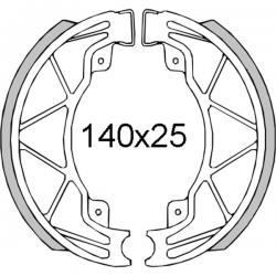 Тормозные колодки RMS Piaggio / Gilera / Vespa 125-200cc