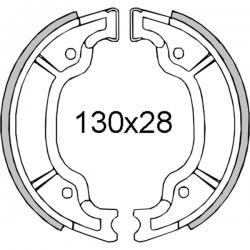 Тормозные колодки RMS 130x25мм. Yamaha 100cc
