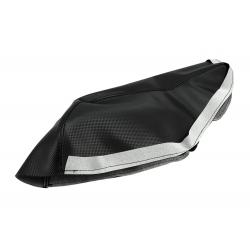 Обшивка сидушки Yamaha Aerox, черная
