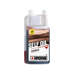 Моторное масло 2т IPONE Self Oil с запахом клубники. 1л