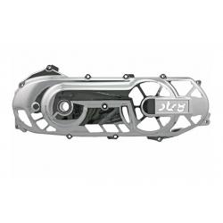 Крышка вариатора Str8 хром. Yamaha Aerox / Neos / Jog RR / Minarelli горизонт