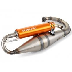 Выхлопная труба Stage6 PRO Replica MK2 оранж. Yamaha Bws / Slider / Minarelli вертикал