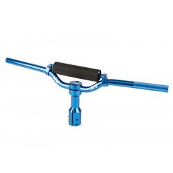 Руль + вынос Str8 синий. Yamaha Jog / Bws / Slider