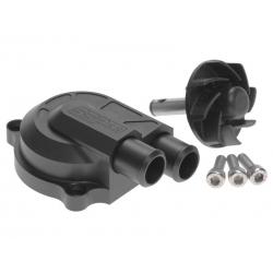 Помпа CNC +40% черная. Yamaha/Minarelli