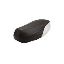 Обшивка сидушки Yamaha BWS, черно-белая