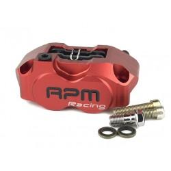 Тормозной суппорт RPM 4х поршневой, Красный