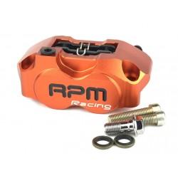 Тормозной суппорт RPM 4х поршневой, Оранж