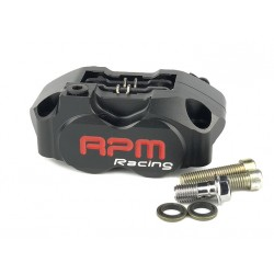 Тормозной суппорт RPM 4х поршневой, Черный