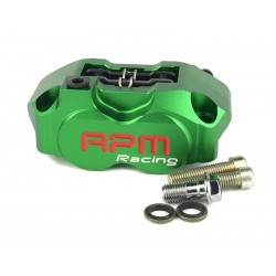 Тормозной суппорт RPM 4х поршневой, Зеленый