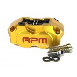 Тормозной суппорт RPM 4х поршневой, Желтый