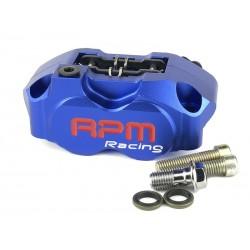 Тормозной суппорт RPM 4х поршневой, Синий