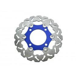 Тормозной диск для питбайка 220мм, плавающий, синий